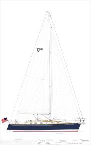 010818 Tartan 395 Rendered sail